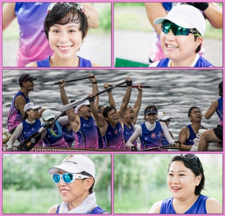 Pink Power Hong Kong 粉紅戰士 - A cancer survivors dragon boat team