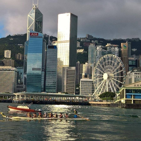 五小時環遊港島 Paddle Around Hong Kong Island