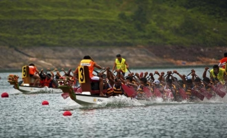 檳城國際龍舟邀請賽 PENANG INTERNATIONAL DRAGON BOAT FESTIVAL 2017
