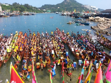 2016 赤柱佛誕龍舟賽-港燈盃決賽-男女組混合 Stanley Fisherman's Invitation Dragon Boat Race - Mixed Gold Cup Final