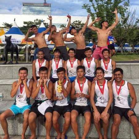 Busan International DB Race  - Silver Medal - HKUSU