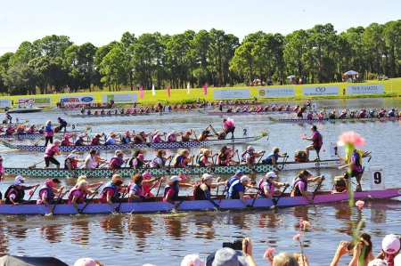 2018 IBCPC Participatory Dragon Boat Festival, Florence Italy